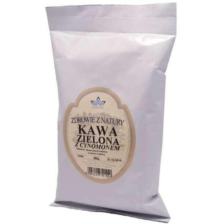 Kawa zielona z cynamonem mielona