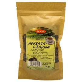 Herbata Czarna Almond Biscotti