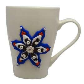Kubek ceramiczny z gwiazdką
